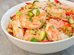 Salade De Quinoa Aux Crevettes Avocat